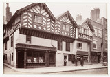 'Chester, the Old King's Head Inn', c 1880.