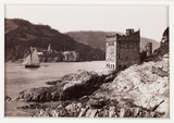 'Dartmouth Castle and Kingswear Castle', c 1880.