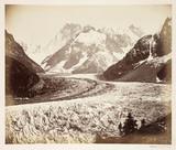 'La mer de glace cremonia', c 1865.