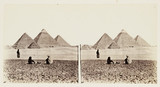 'The Pyramids of Gizeh', 1859.