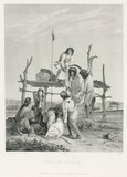 'Indian Burial', USA, 1847.