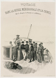 Sailors on board ship, c 1837.