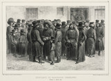 Jewish traders and merchants, Odessa, Russia, 7 August 1837.