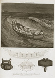 Greathead's boat and Daniel's life-preserver, 1813.
