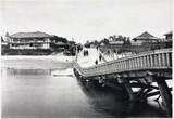 Biwajima Bridge after the earthquake, Japan, 1891.