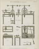 Brunel's boring machine and cornering saw, 1820.