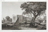 The aqueduct at Old Cairo, from the Island of Roudah, Egypt, c 1798.