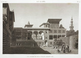 The house of Osman Bey, Egypt, c 1798.