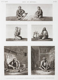 """""""Textile and wood workers, Egypt, c 1798."""""""