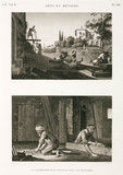 Carpenters and joiners, Egypt, c 1798.