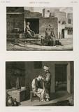 """""""Knife-grinder and barber, Egypt, c 1798."""""""