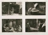 """Various cottage industries, Egypt, c 1798."""