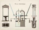 Hydraulic pres, 1856.