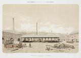 Coal store, St Leonard, Liege, Belgium, 1855.