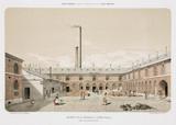 Zinc works, St Leonard, Liege, Belgium, 1855.