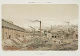 Coalmine at Valentin Cocq, Belgium, 1855.