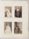 Four young women, c 1865.