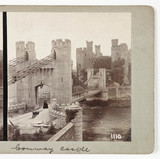 Conway Castle, c 1895.