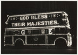 Illuminated bus, 1937.