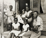 A Jamaican family planning to emigrate to England, 2 August 1962.