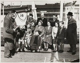 Emigrating to Australia, 1949.