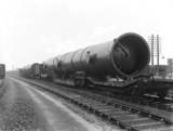 Large load at St Pancras Station, London, c 1939.