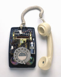 Post Office 706 telephone, c 1959.