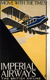 Imperial Airways travel poster, 1926.
