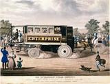 Steam omnibus 'Enterprise', 1833.
