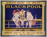 'Blackpool - Always Merry and Bright', MR poster, 1923-1947.
