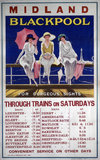 'Blackpool for Gorgeous Sights', MR poster, 1920.