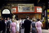 Passengers inside Victoria Station, London, 1965.