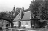 Cromford Station, Derbyshire, 1971.