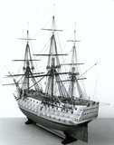 HMS 'Victory', rigged model in 1805 condition, 1805.