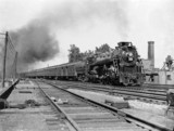 Canadian passenger train, 1936.
