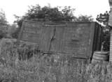 Derelict wagon, Worcestershire, 1961.