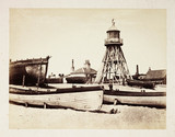 'Lowestoft-Low Lighthouse', c 1855.