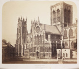 'York Minster fom the South East', c 1856.