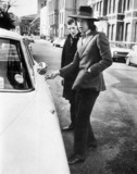 Mick Jagger, British musician, c 1970.