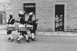 Coconut dancers, Bacup, Lancashire, 1968.