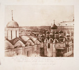 'View from Ivan's Tower, Moscow', 1852.