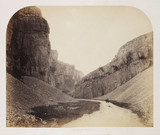 'Cheddar Cliffs', 1858.