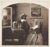 Costume scene, c 1910.