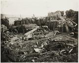 Wrecked battery, Crimea, 1855.