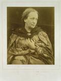 Julia Margaret Cameron, British photographer, c 1860s.