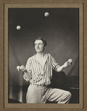 'The Juggler', c 1860s.