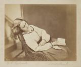 'Sweet Slumber', c 1860.