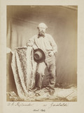 'Rejlander as Garibaldi', c 1860.