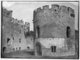 Ludlow Castle, c 1853.