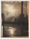 Fountain in Trafalgar Square, c 1898.